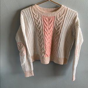 Sleeping on Snow Elbow Patch Sweater